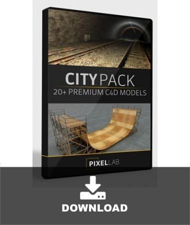 City Pack for Cinema 4D
