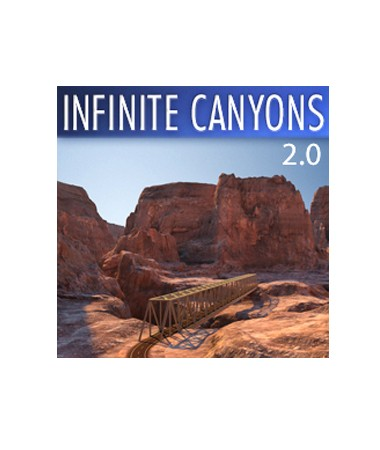 Infinite Canyons 2.0 for Cinema 4D