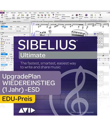 Sibelius Ultimate Education Software Updates + Std. Support Plan Wiedereinstieg - 12 Monate