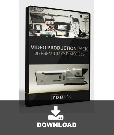 PixelLab-VideoProduction-Pack-C4D