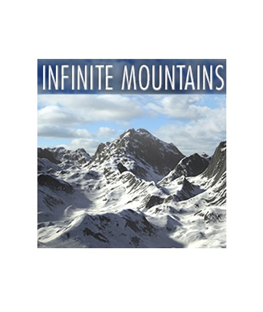 Infinite Mountains for Cinema 4D