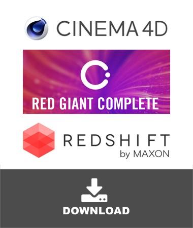 maxon-c4d-redgiant-redshift-bundle