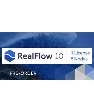 RealFlow 10 (1 Lic./5 Nodes) Node-Locked
