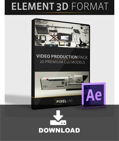 Video Production Pack for Element 3D